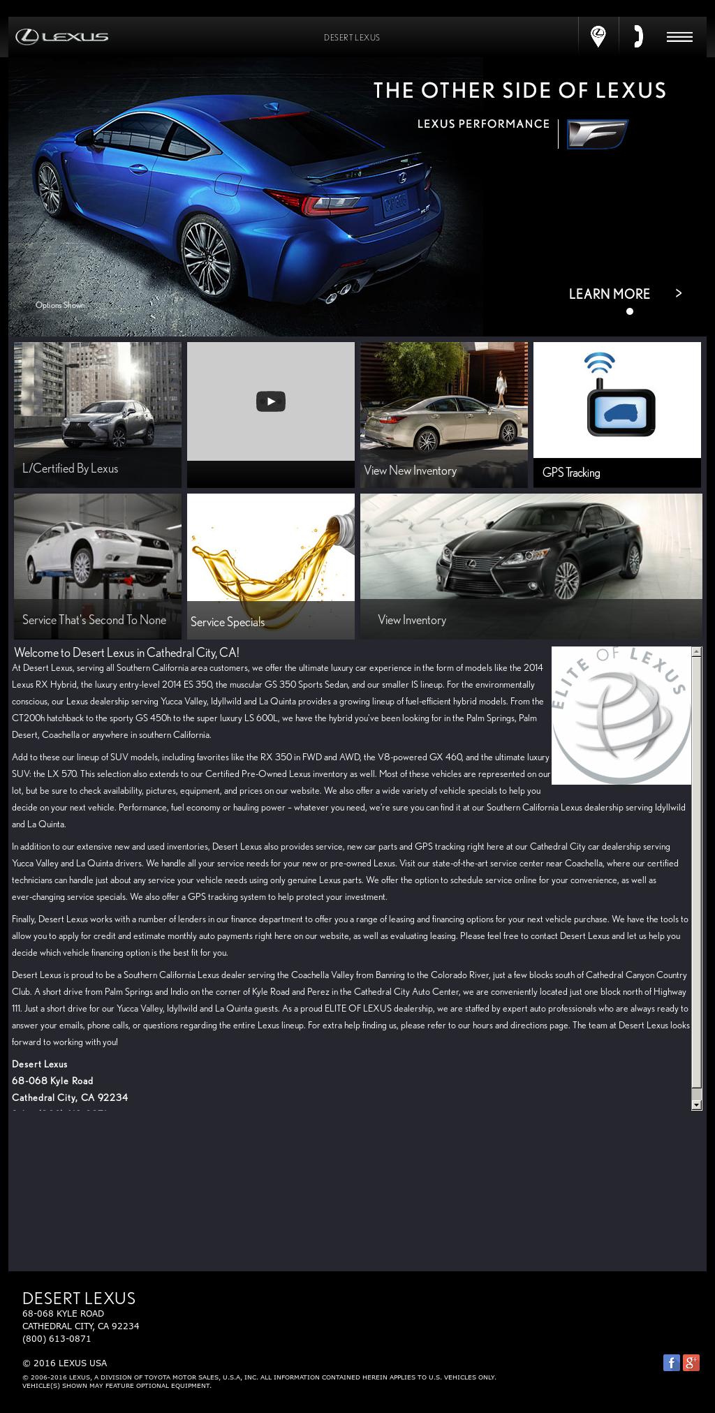 Desert Lexus petitors Revenue and Employees Owler pany Profile