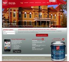 Devoe Paint website history