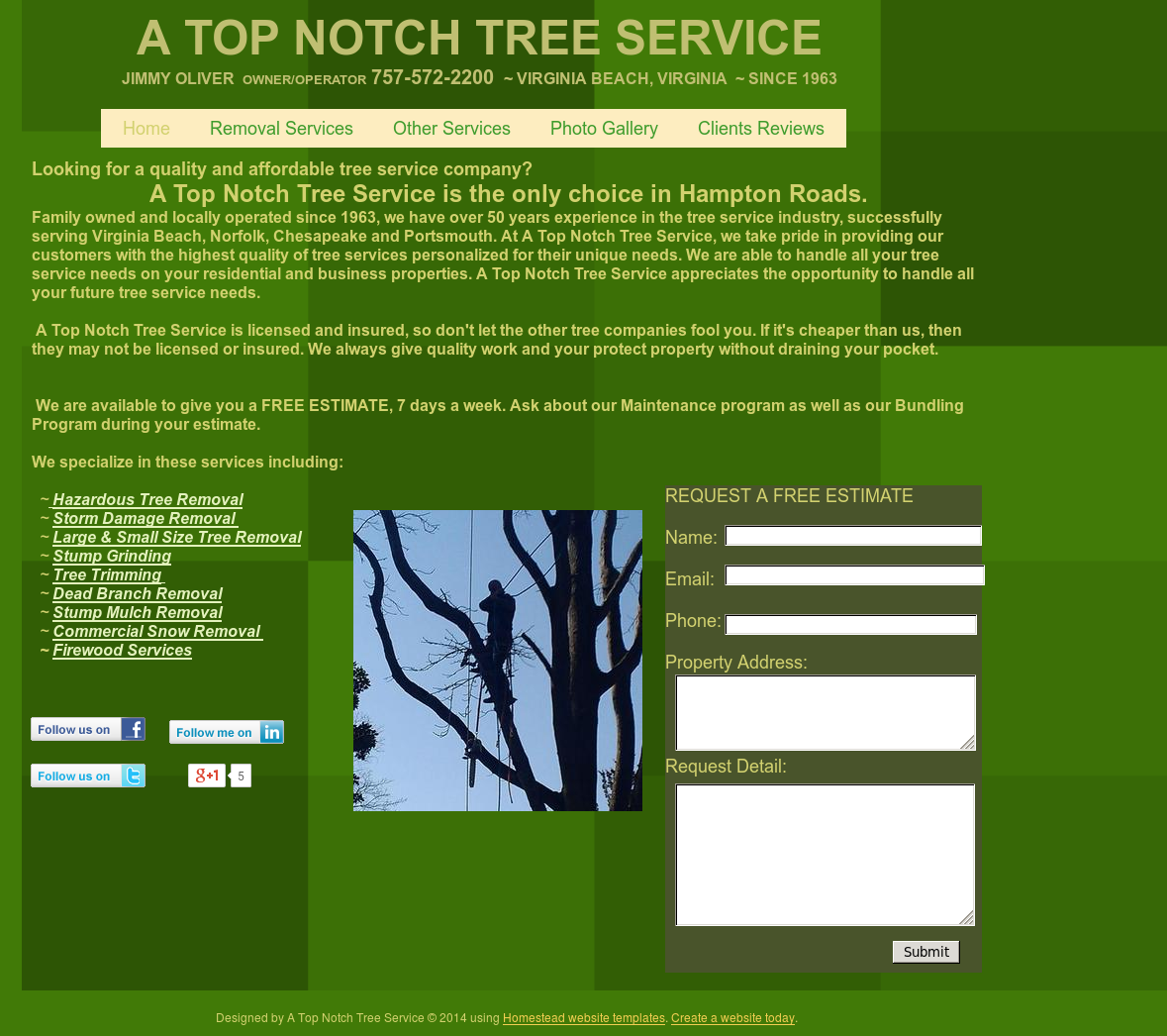 A Top Notch Tree Service Competitors Revenue And Employees