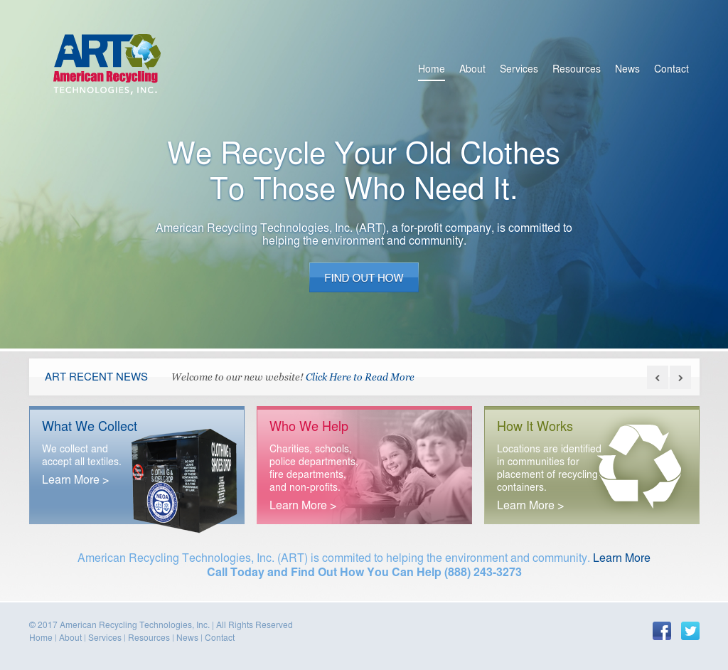 American Recycling Technologies Competitors, Revenue and