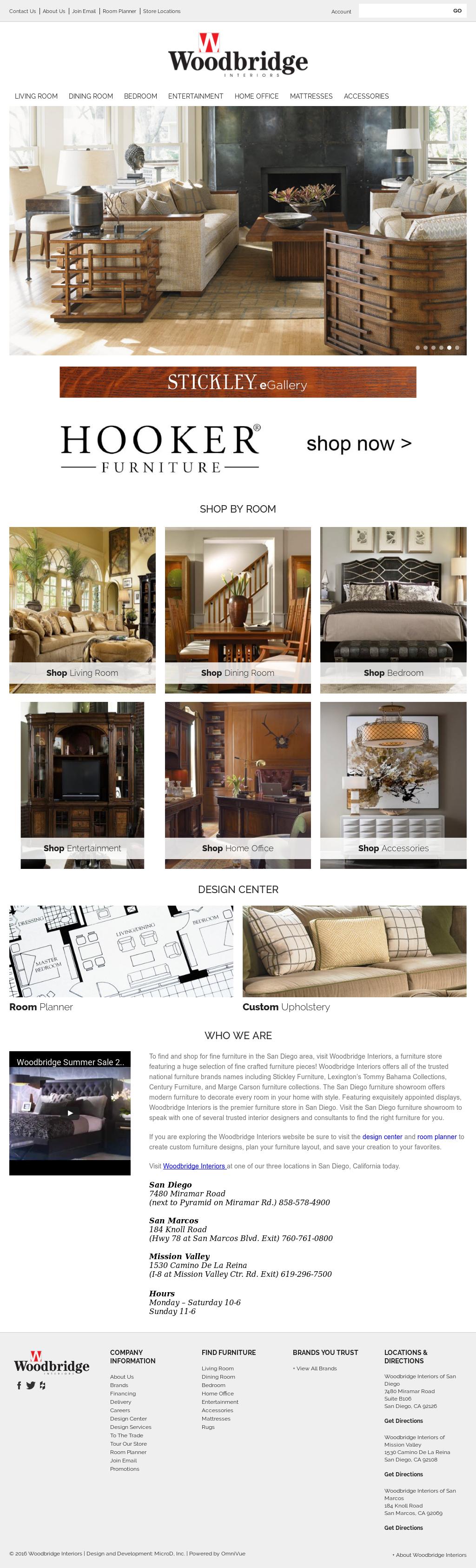 Woodbridge Interiors San Diego Competitors, Revenue And Employees   Owler  Company Profile