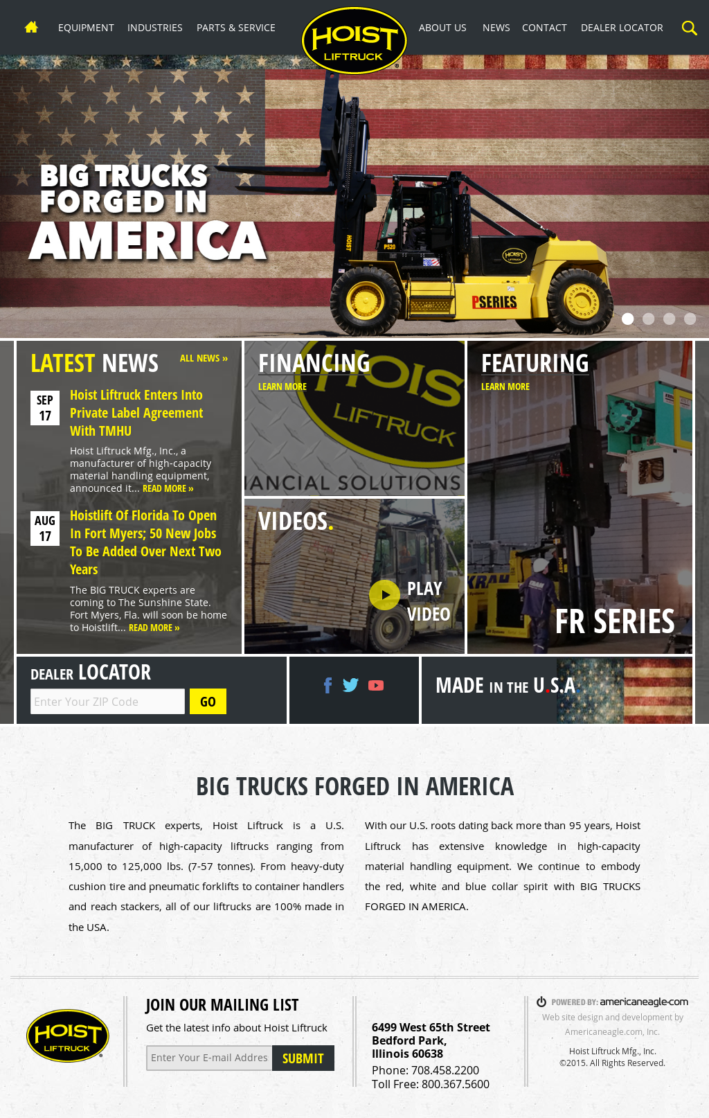 Hoist Liftruck Competitors, Revenue and Employees - Owler