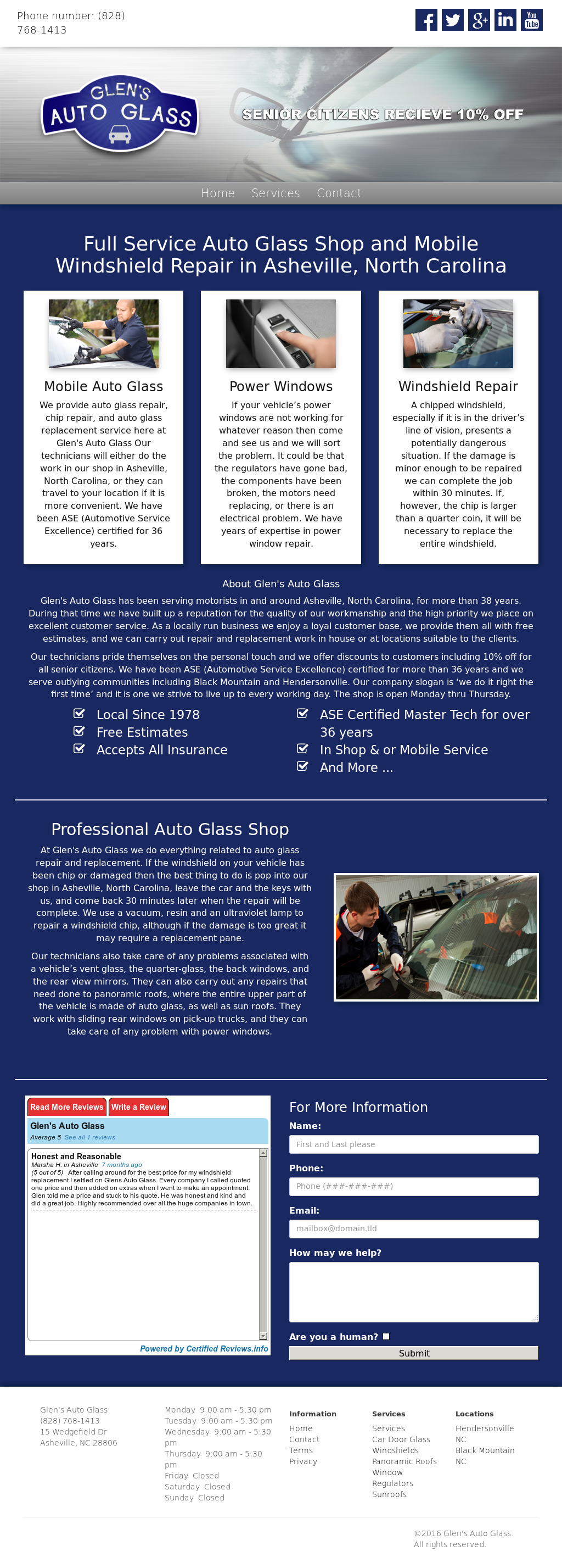 Glen's Auto Glass Competitors, Revenue and Employees - Owler Company
