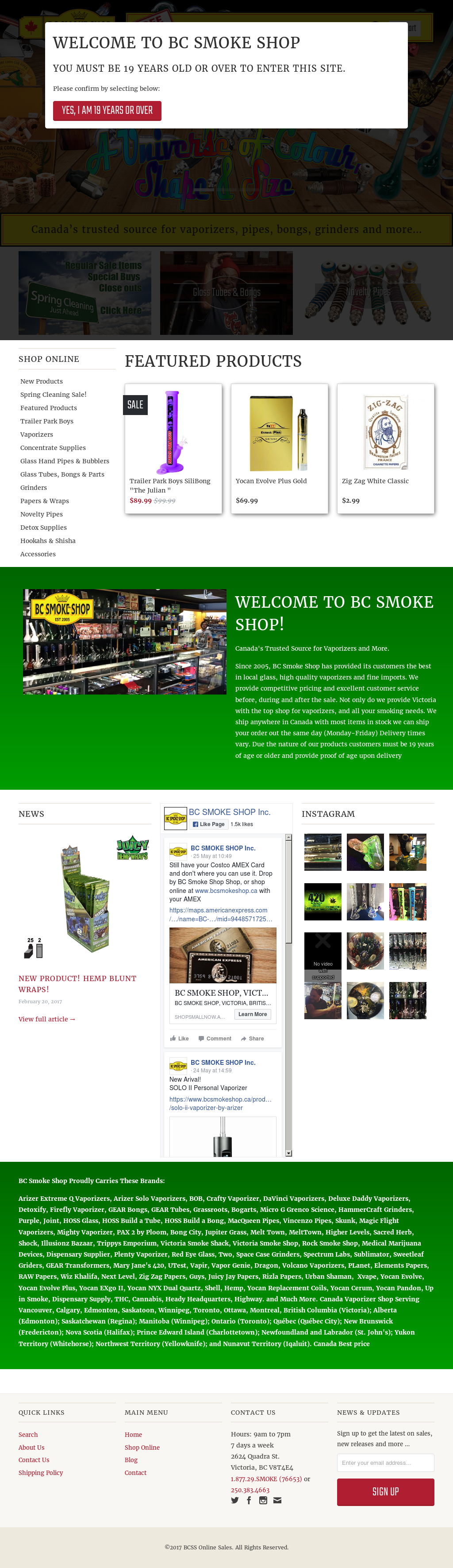Bc Smoke Shop Competitors, Revenue and Employees - Owler Company Profile