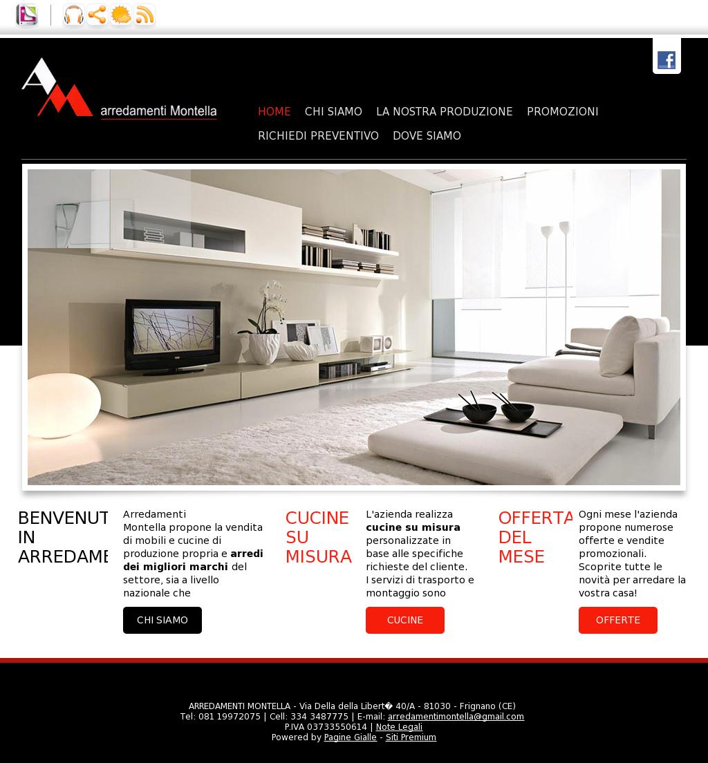 Migliori Marche Di Mobili arredamenti montella competitors, revenue and employees