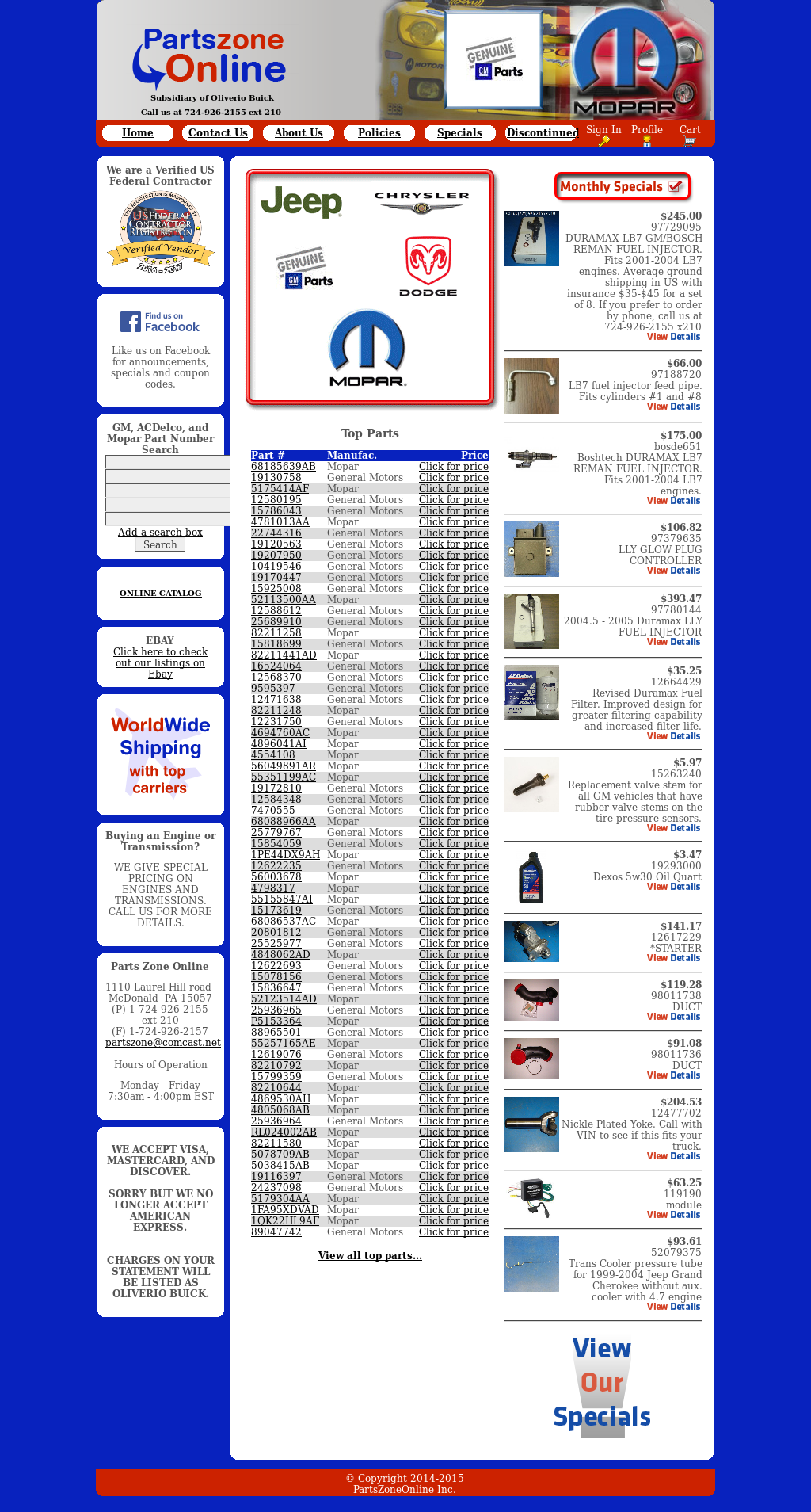 Parts Zone Online Competitors Revenue And Employees Owler Company For An 05 Duramax Lly Fuel Line Filter Website History