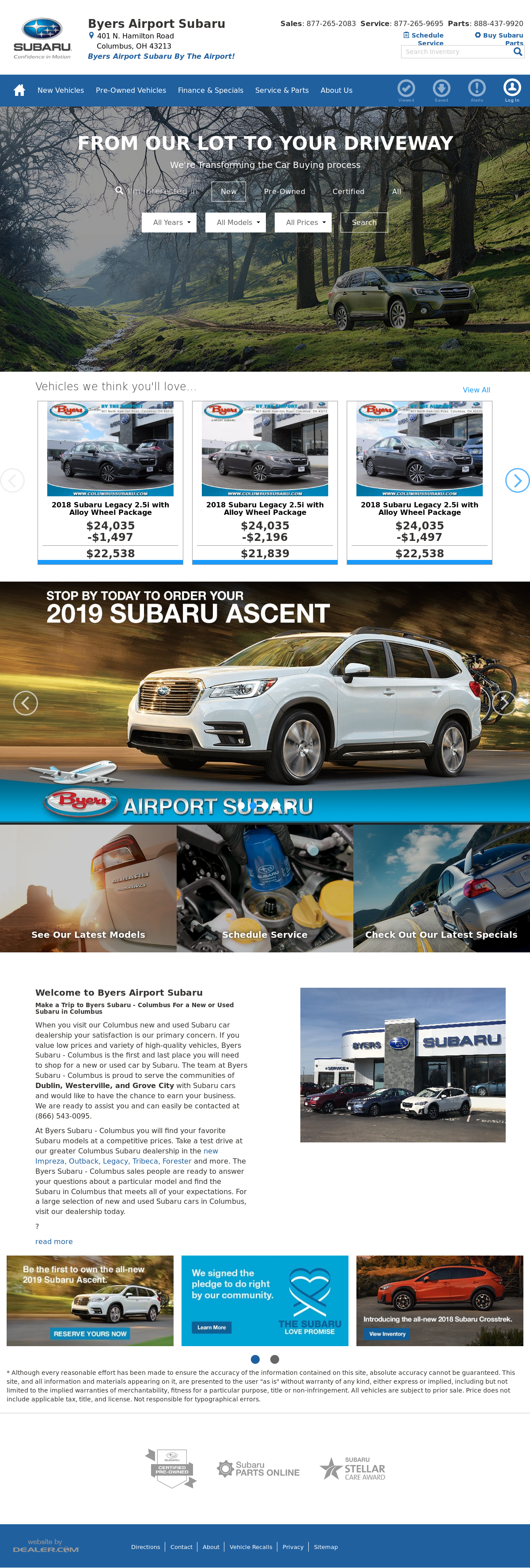 Byers Airport Subaru >> Byers Airport Subaru Competitors Revenue And Employees Owler
