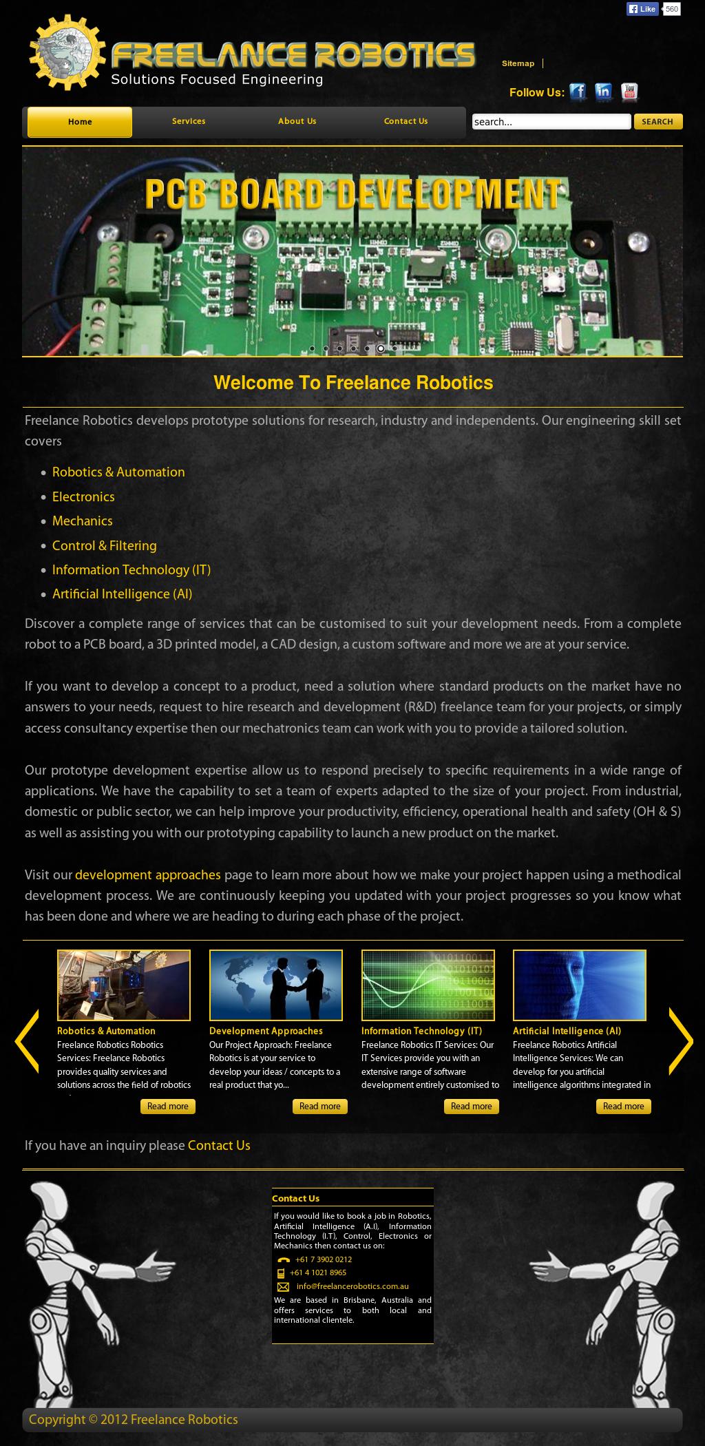 Freelance Robotics Competitors, Revenue and Employees - Owler