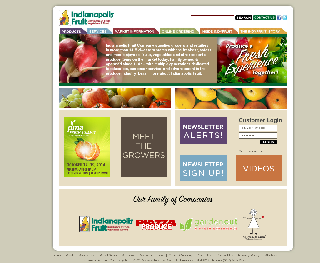 Indianapolis Fruit Competitors, Revenue and Employees - Owler