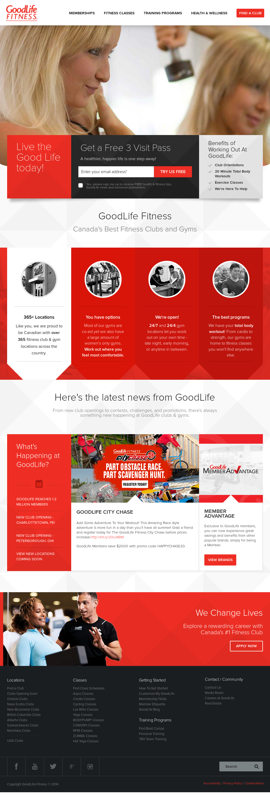 Owler Reports Goodlife Fitness Goodlife Fitness Picks Fcb