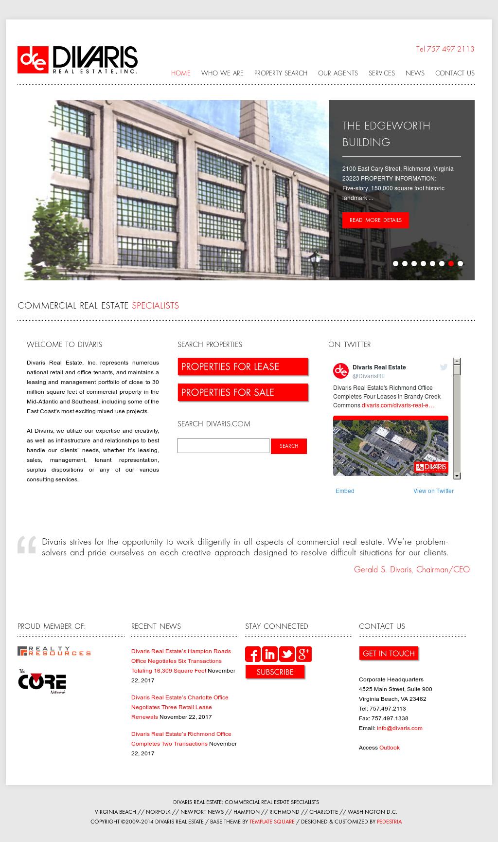 Divaris Real Estate Competitors, Revenue and Employees