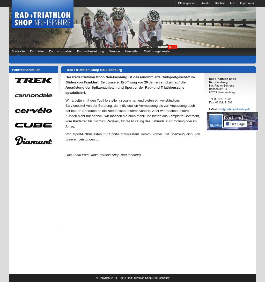 Rad Und Triathlon Shop - Neu Isenburg Competitors, Revenue