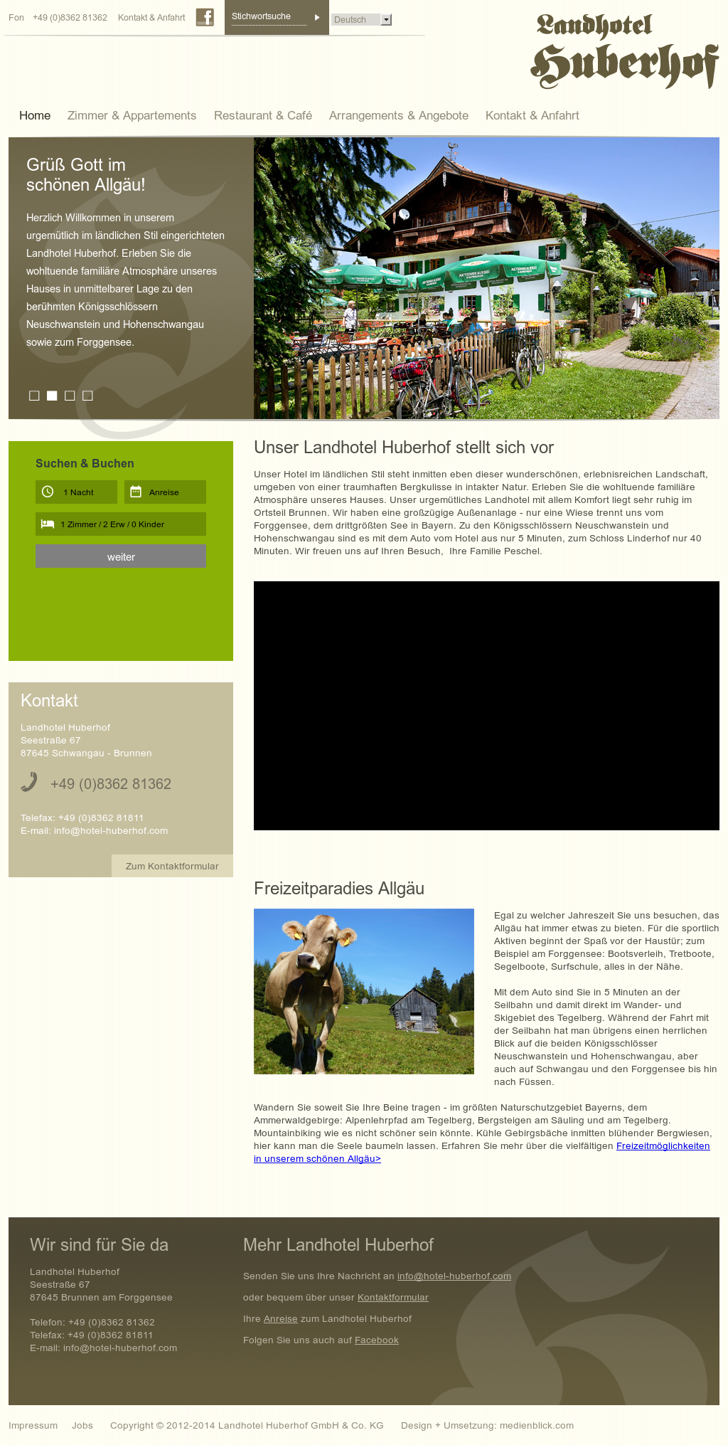 Landhotel Huberhof Competitors, Revenue and Employees - Owler ...
