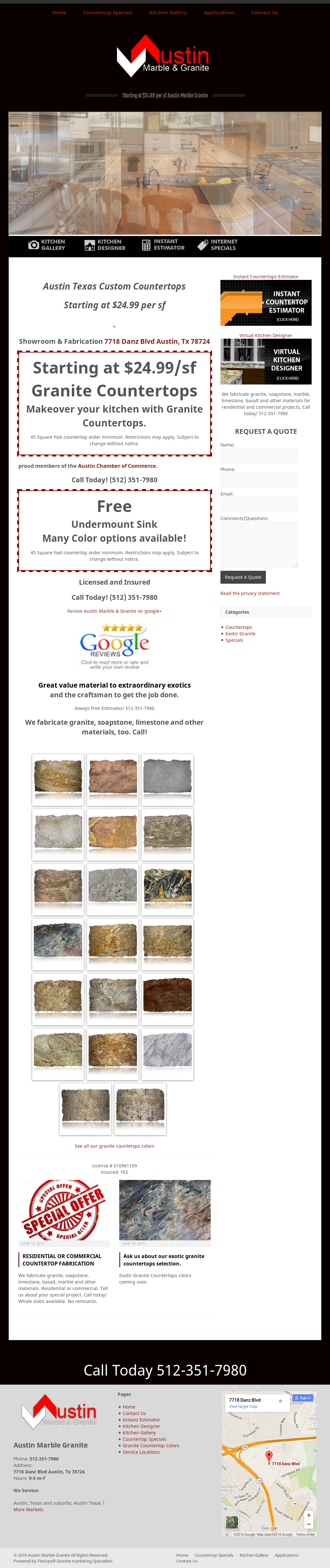 Austin Marble & Granite Competitors, Revenue and Employees - Owler