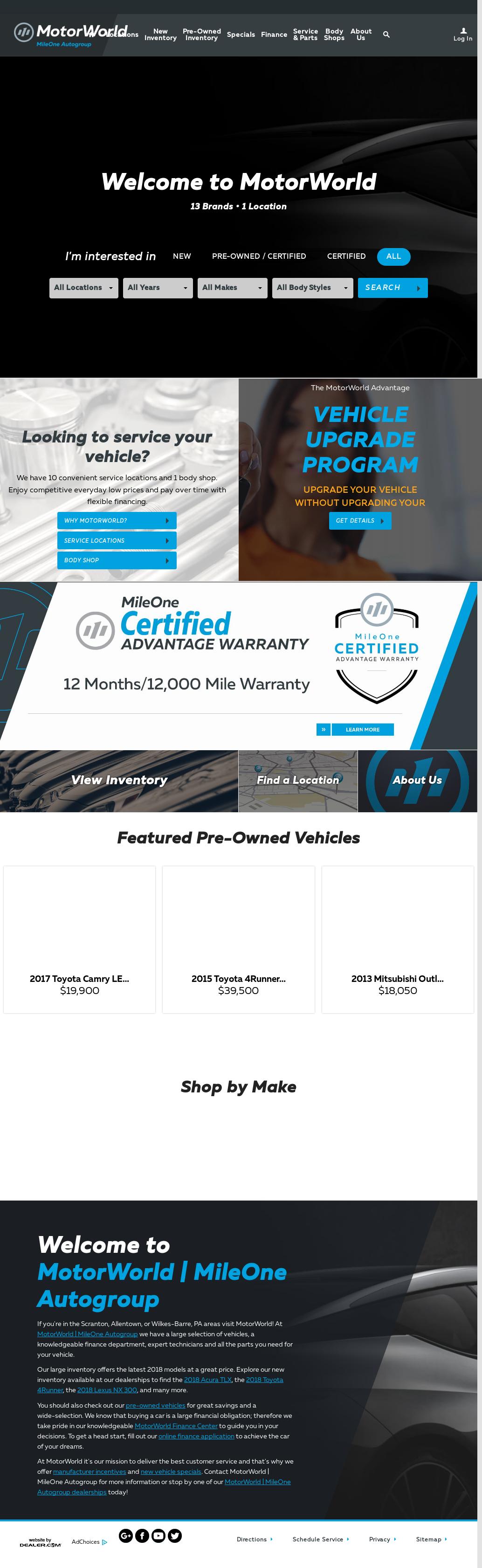 MotorWorld petitors Revenue and Employees Owler pany Profile