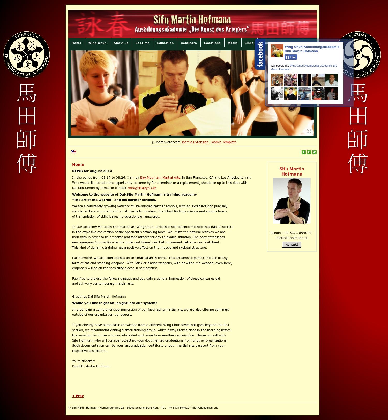 Wing Chun Ausbildungsakademie Sifu Martin Hofmann Competitors