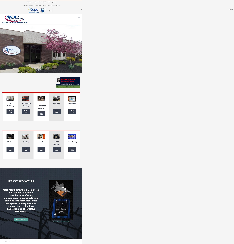 Astro Manufacturing & Design Competitors, Revenue and