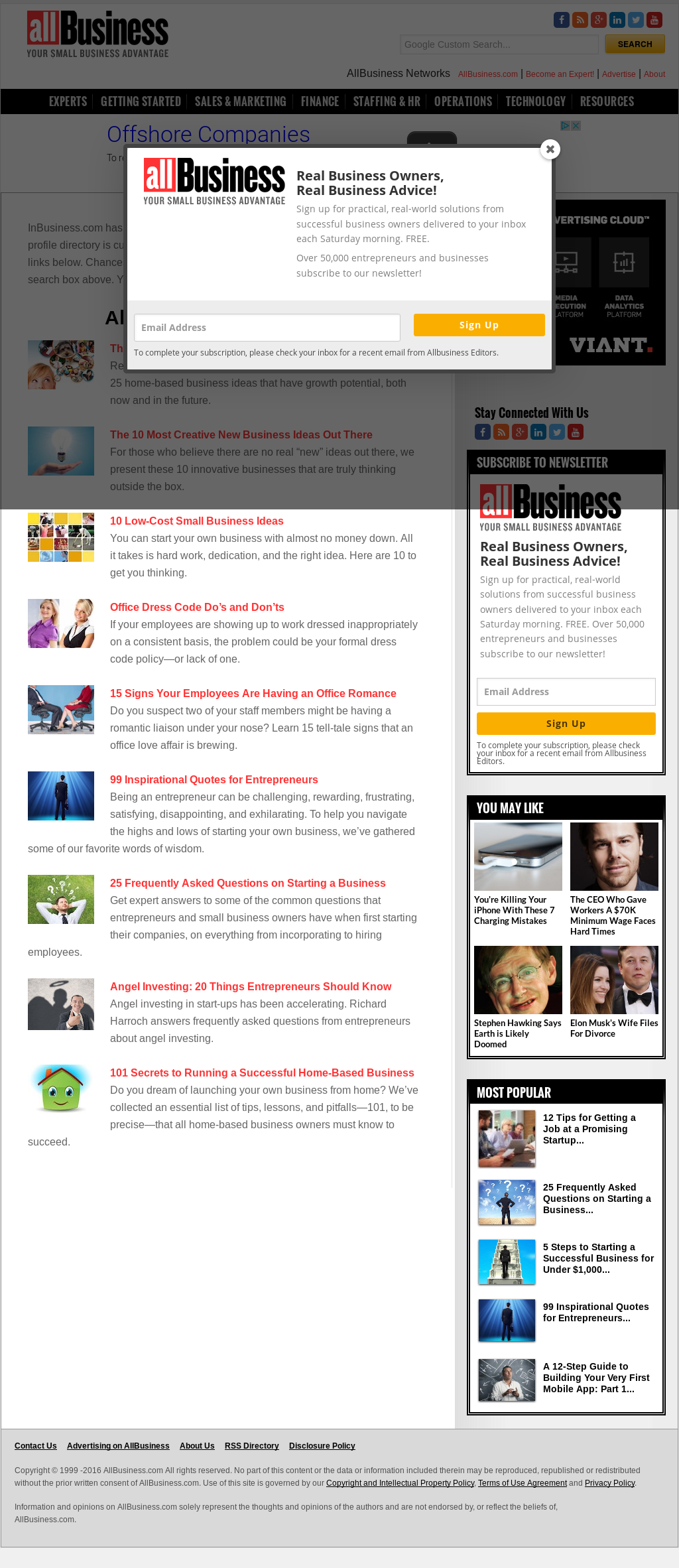 InBusiness Competitors, Revenue and Employees - Owler Company Profile