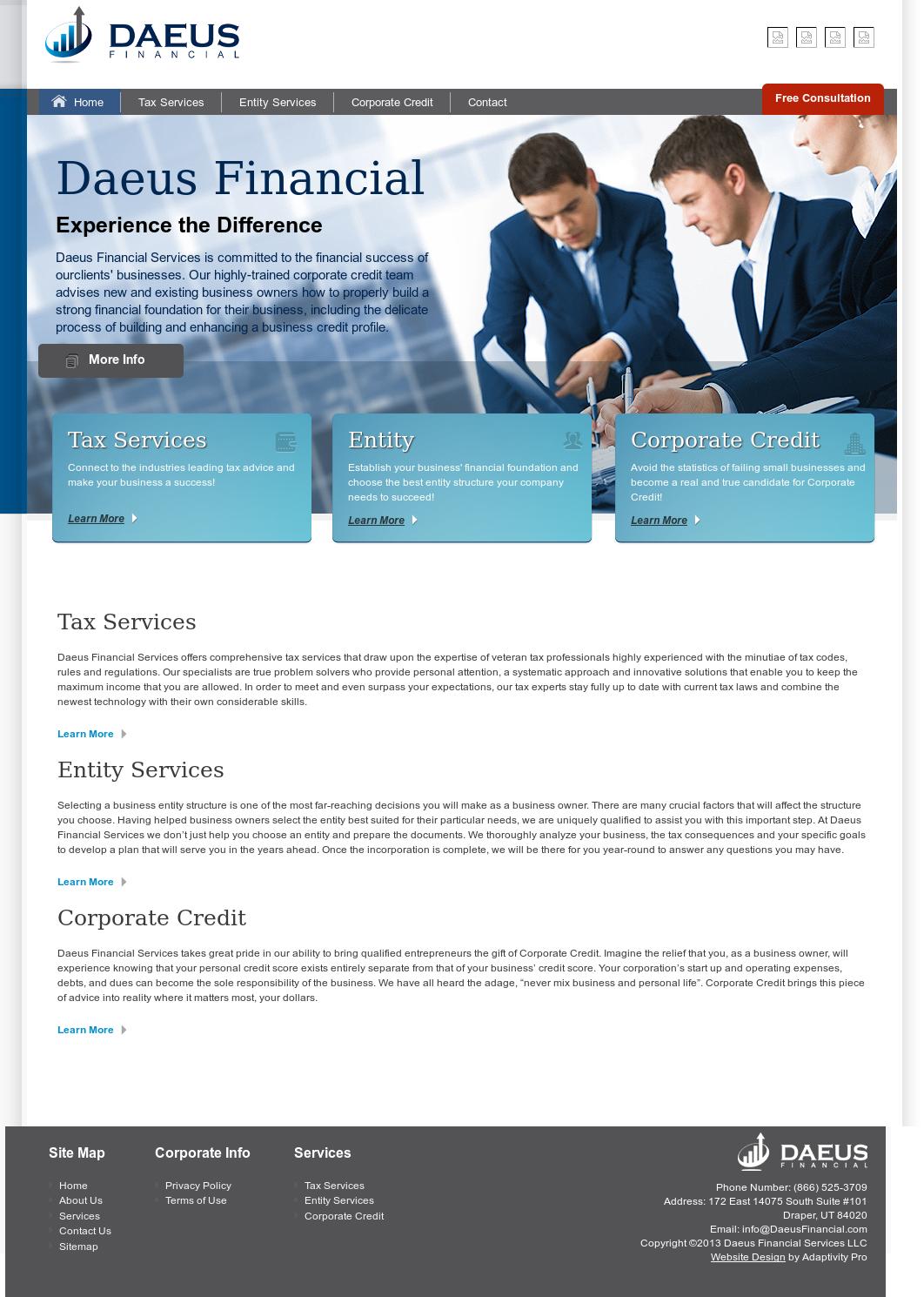 Daeus Financial Services Competitors Revenue And