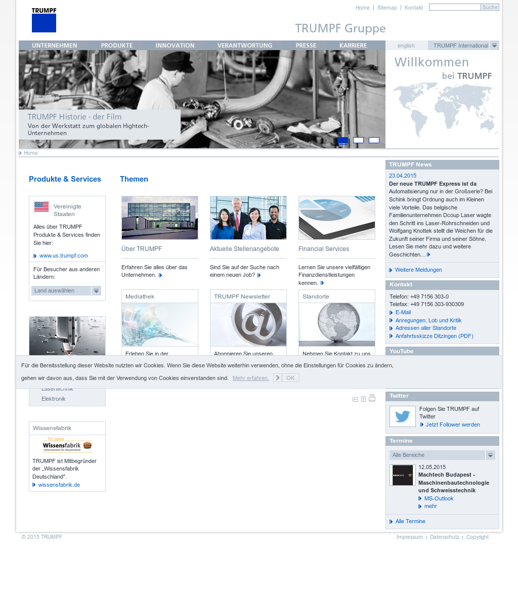 TRUMPF Competitors, Revenue and Employees - Owler Company Profile
