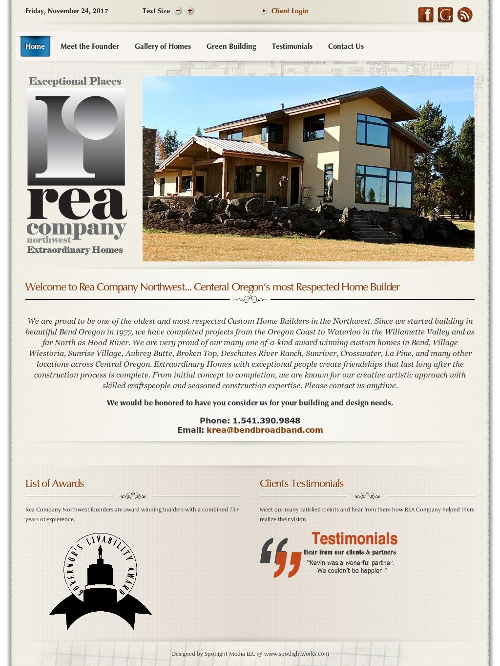 Rea Co. Northwest Custom Home Builders, Contractors, & Designers ...