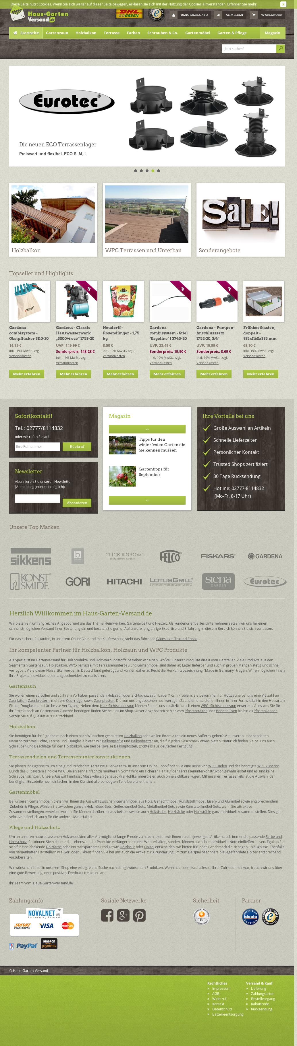 Haus Garten Versand.de Competitors, Revenue And Employees   Owler Company  Profile