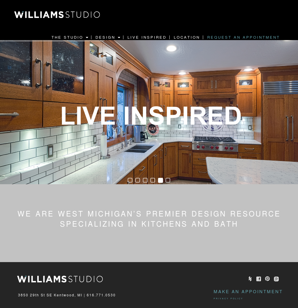 Williams Kitchen And Bath Website History