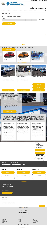 Deluz Chevrolet U0026 Big Island Toyota Used Cars Website History