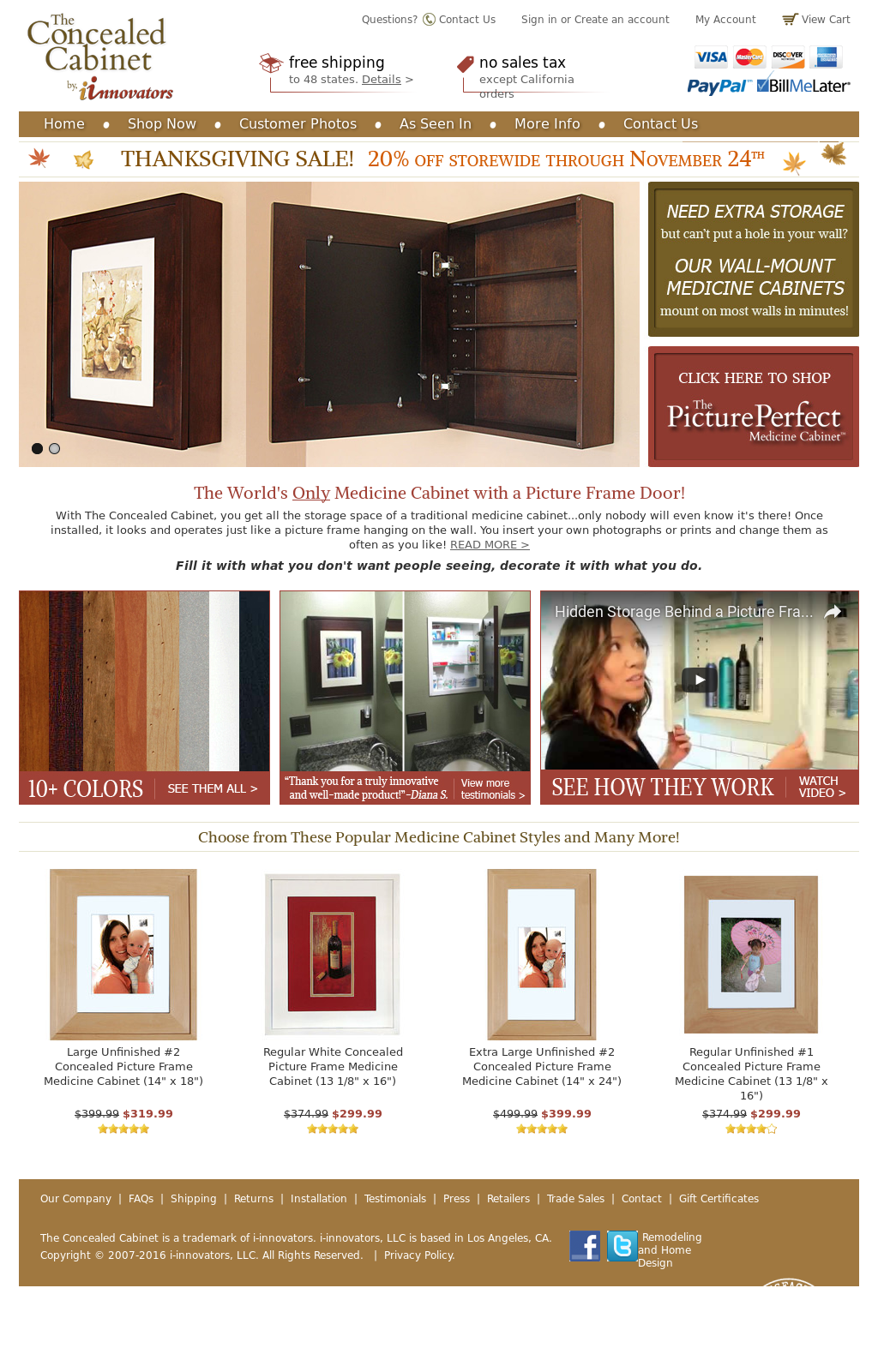 The Concealed Cabinet By I Innovators Competitors, Revenue And Employees    Owler Company Profile