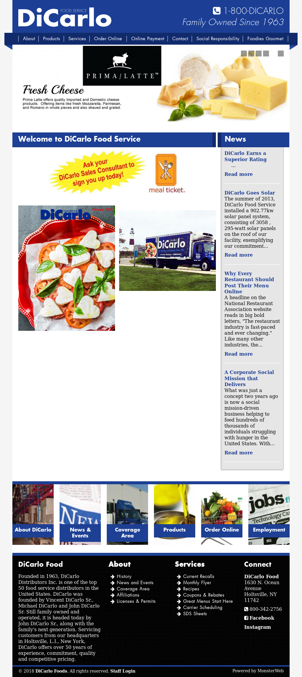 DiCarlo Food Competitors, Revenue and Employees - Owler