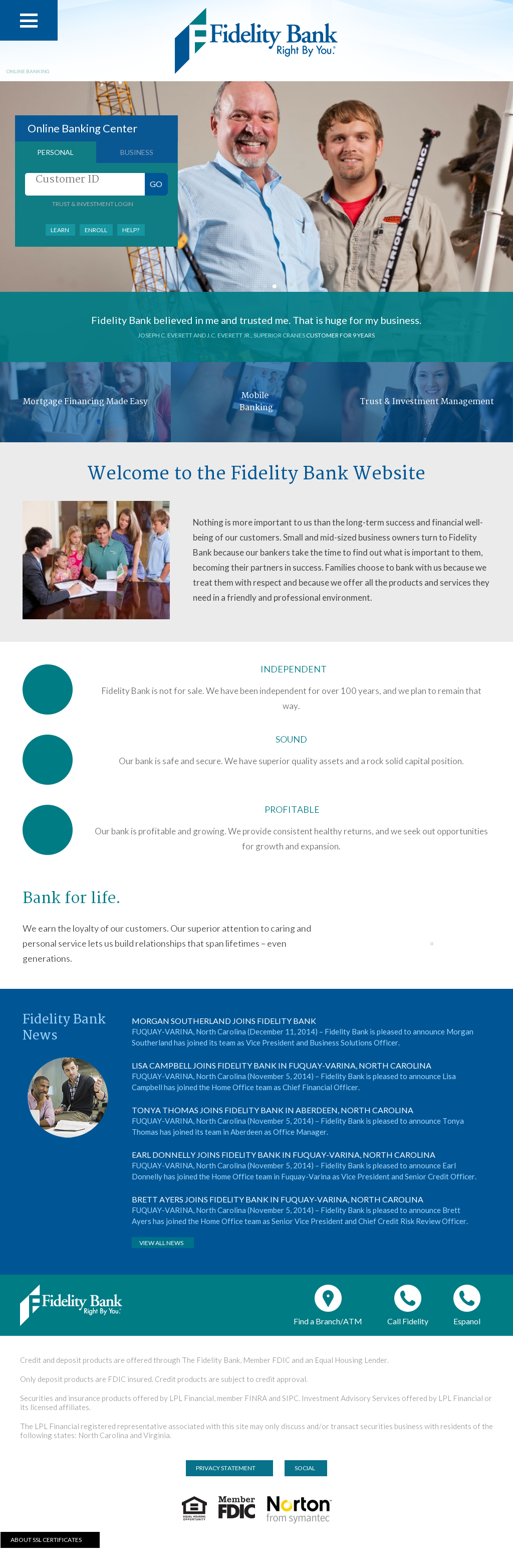 Fidelitybanknc Competitors, Revenue and Employees - Owler Company ...