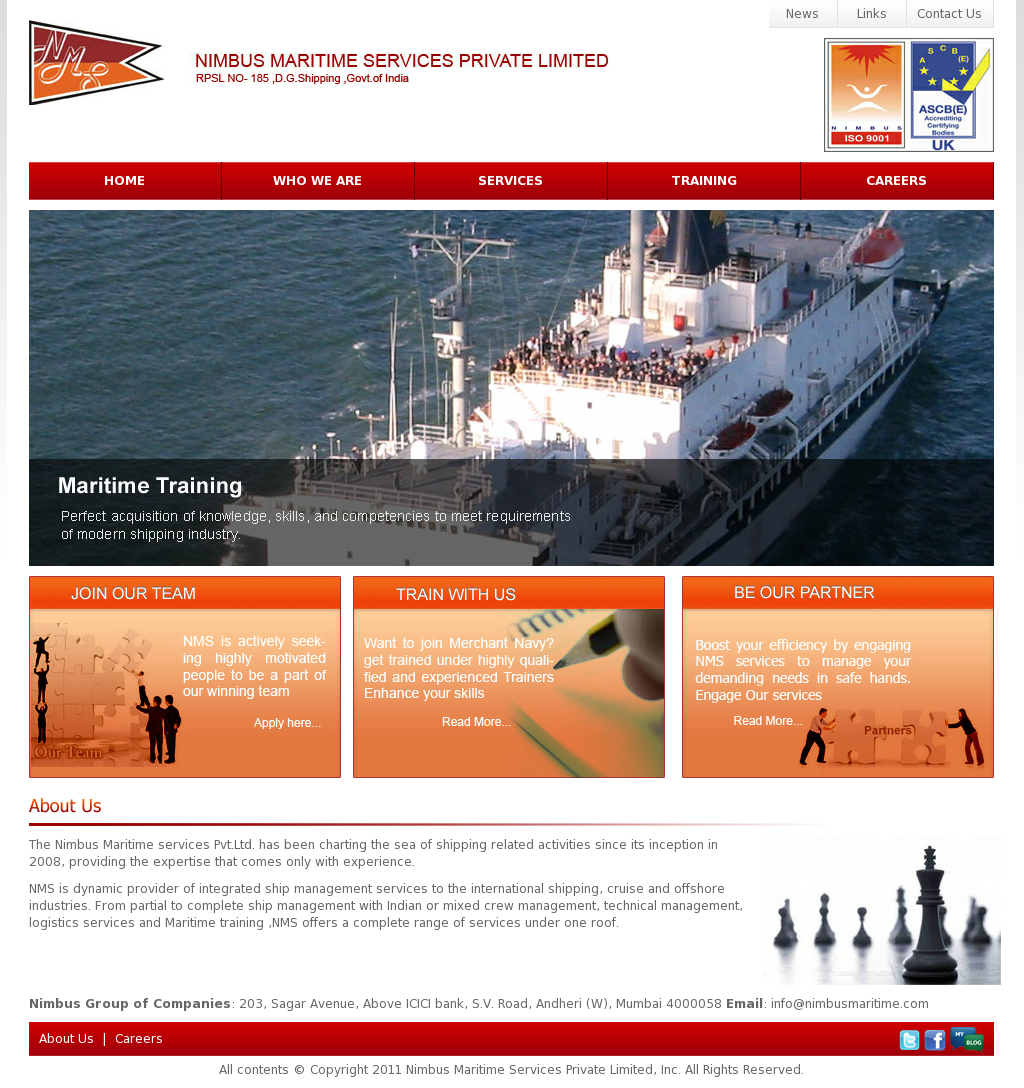 Nimbus Maritime Services Competitors, Revenue and Employees