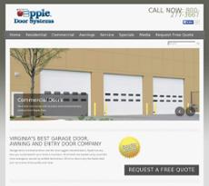 Apple Door Systems Website History
