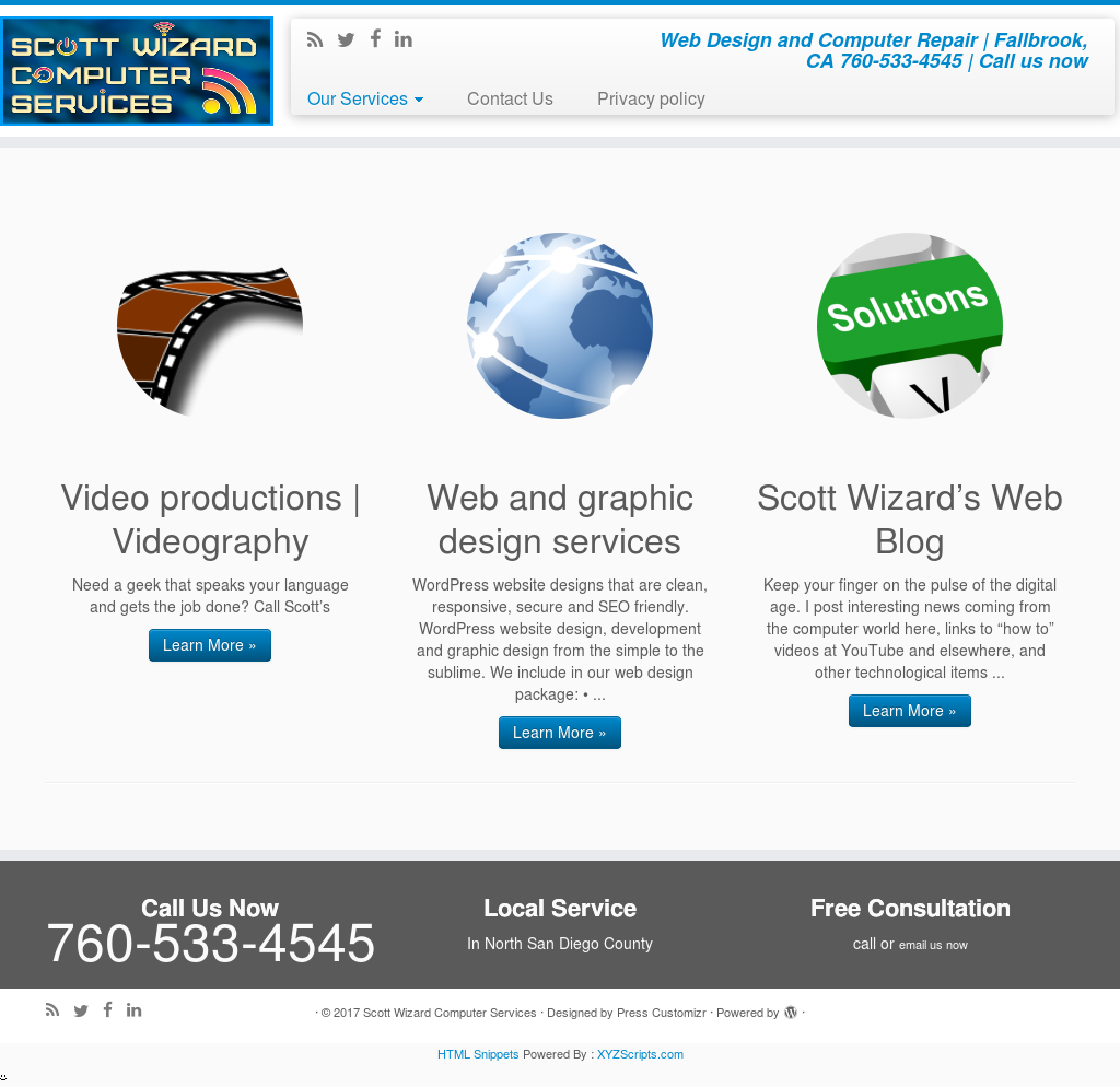 Scott Wizard Web Design And Computer Repair Competitors