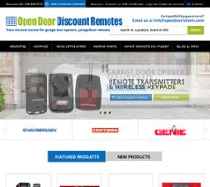 Open Door Enterprisesu0027s Website Screenshot On Jun 2017