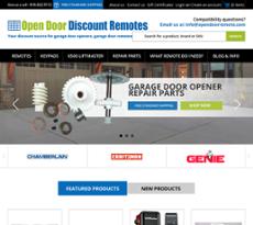 Open Door Enterprisesu0027s Website Screenshot On Nov 2017