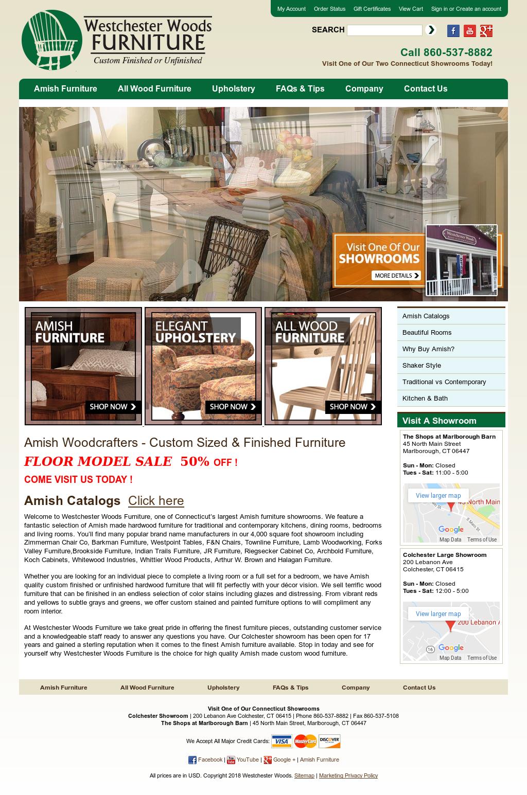 Genial Westchester Woods Furniture Website History