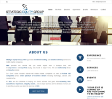 SEG website history