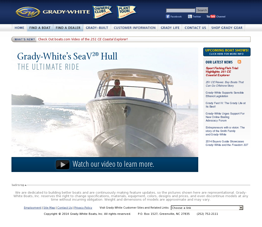 Grady-White Boats Competitors, Revenue and Employees - Owler