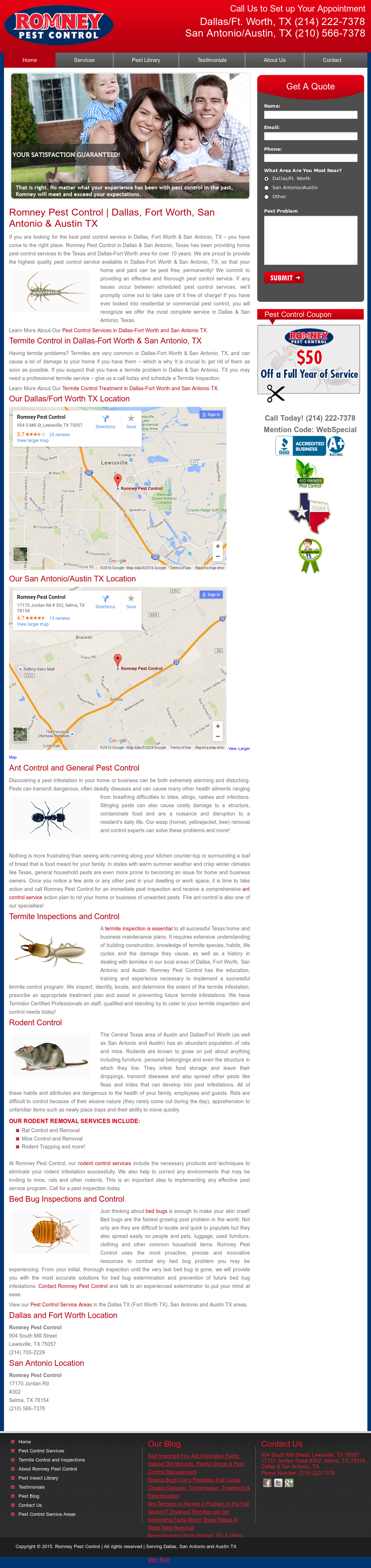 Romney Pest Control Compeors Revenue And Employees Owler Company Profile