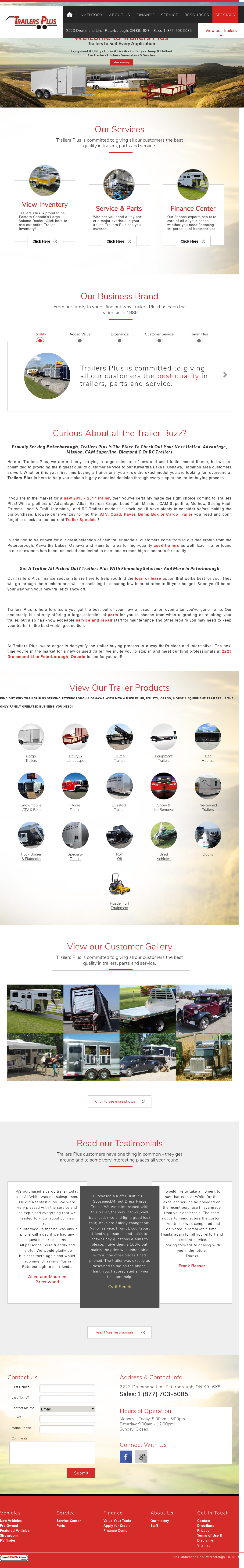 Trailers Plus Peterborough >> Trailersplus Competitors Revenue And Employees Owler