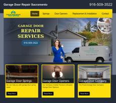 Overhead Door Repair Sacramento Website History