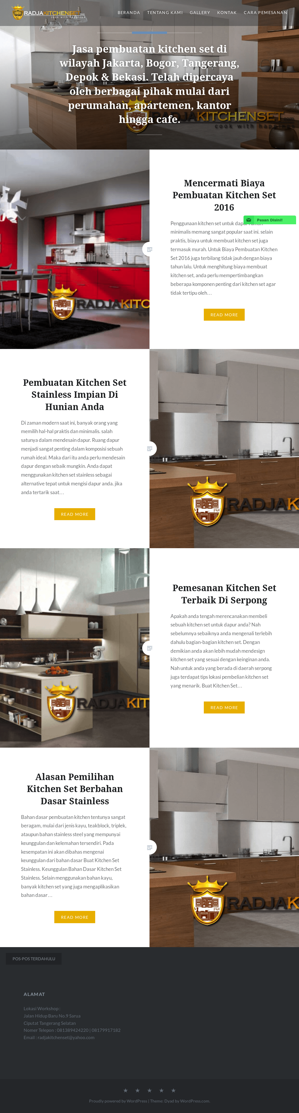 Buat Kitchen Set Murah Bekasi Kitchen Appliances Tips And Review