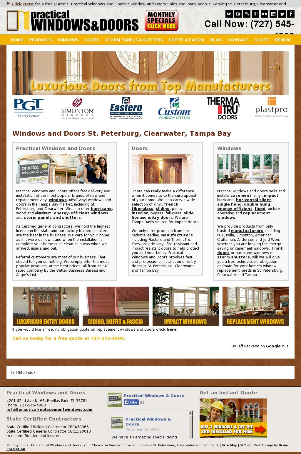 Practical Windows Doors Compeors