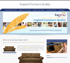 England Furniture Qualityu0027s Website Screenshot On Jul 2017