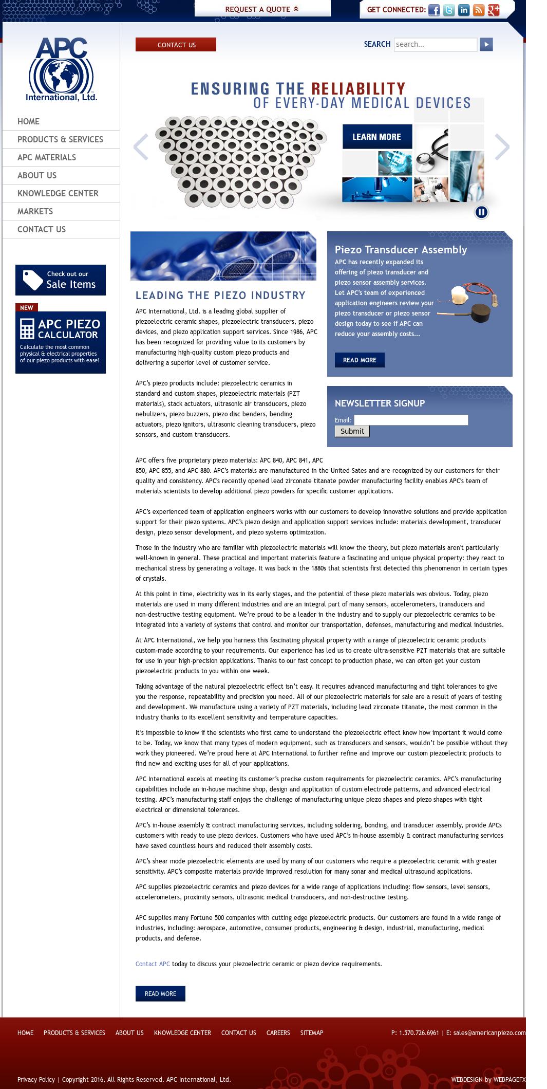 Americanpiezo Competitors, Revenue and Employees - Owler Company Profile