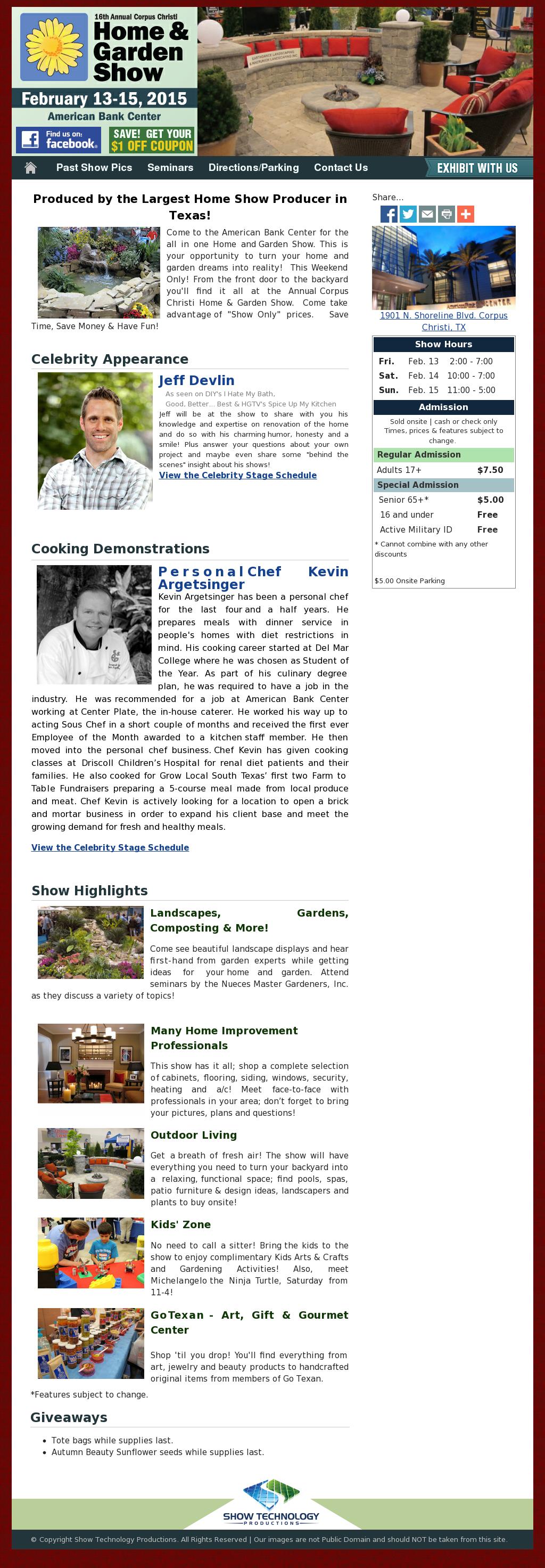 Corpus Christi Spring/fall Home U0026 Garden Show Competitors, Revenue And  Employees   Owler Company Profile