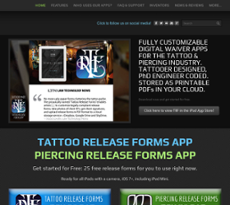 Tattoo Release Forms App Competitors Revenue And Employees Owler