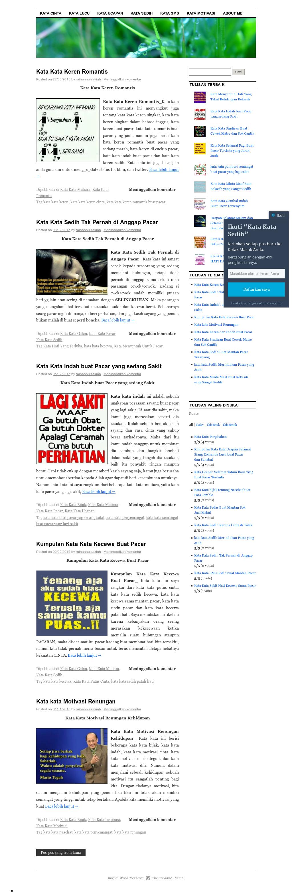 Kata Kata Sedih Menyentuh Hati Competitors Revenue And
