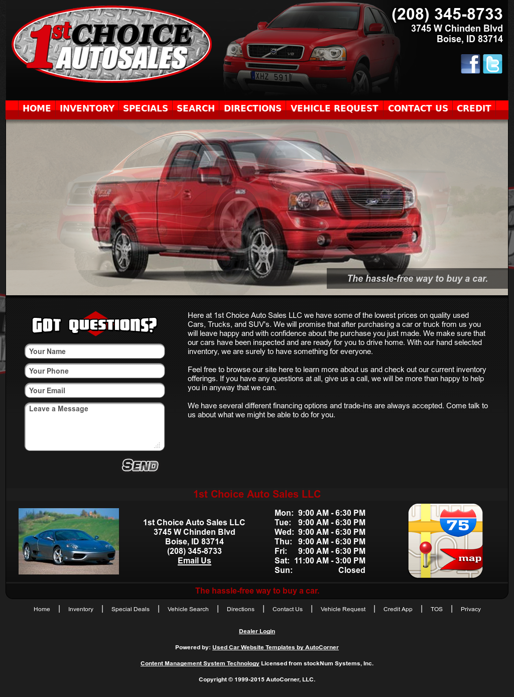 1St Choice Auto >> 1st Choice Auto Sales Competitors Revenue And Employees